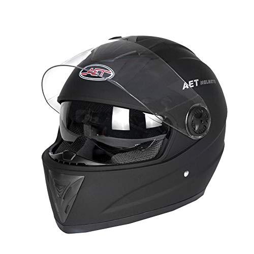Katurn Casque Moto Intégral - Casque Double Visière Quatre Saisons Extracteur D'air Pour Homme Et Femme