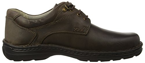 Hush Puppies Geography Lace, Scarpe Stringate Derby Uomo Marrone (Brown)