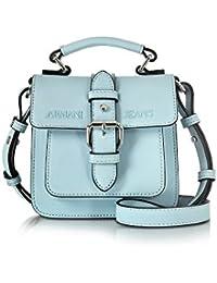 Armani Jeans Mujer 9222157P77211530 Azul Claro Poliéster Bolso De Mano