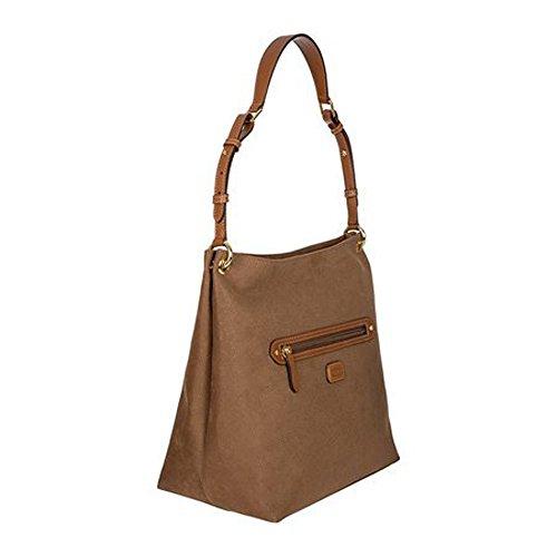 Brics Life Sacca Shopper Tasche 31 Cm Cammello
