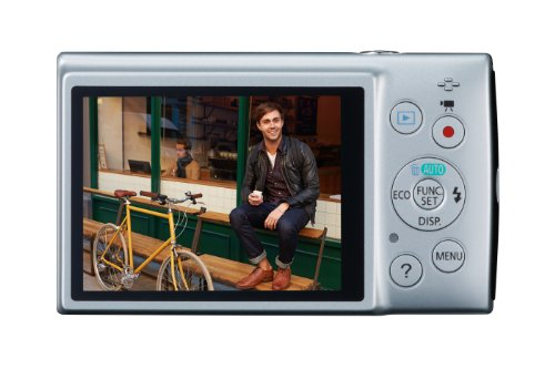 Canon IXUS 155 Digitalkamera (20 Megapixel, 10-fach opt. Zoom, 6,8 cm (2,6 Zoll) LCD-Display, HD-Ready) silber - 2