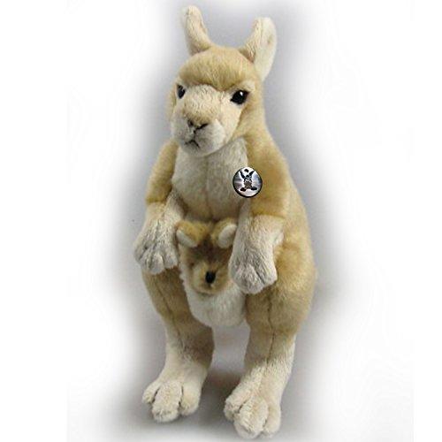 Känguru KIMBERLY mit Baby 22 cm Plüschtier von Kuscheltiere.biz