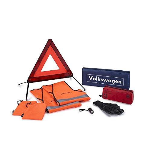 Original VW Sicherheitspaket Pannenhilfe Sicherheit Erste Hilfe Pannen Set 000093059M