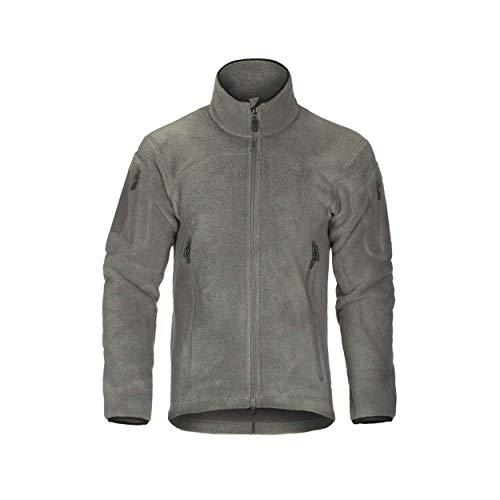 Clawgear Milvago Warme Fleecejacke Outdoor - Solid Rock (Grau) - Gear-fleece-jacke