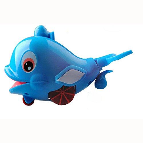Muium Bebé baño Juguete Flotante delfín Agua Spray niños...