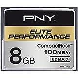 PNY Carte mémoire CompactFlash Elite Performance 100Mb/s 8 Go UDMA 7
