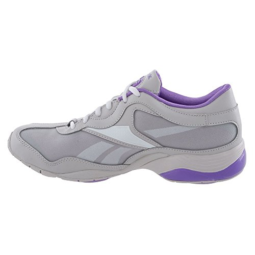 Reebok scarpa donna fitness Fit train Tone, (grau - violett - weiß), 35,5 (grau - violett - weiß)