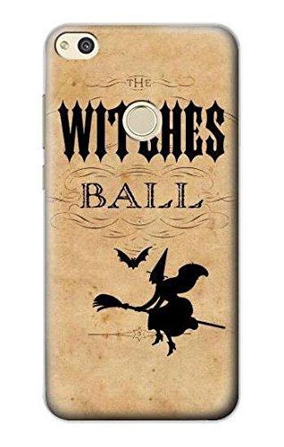 Innovedesire Vintage Halloween The Witches Ball Hülle Schutzhülle Taschen für Huawei P8 Lite (2017)