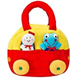 KIDZVILLA® Designer CAR Carry Bag/Mother Care Bag/Travelling Bag/Baby Care Bag/Diaper Bag (Red_Multi)