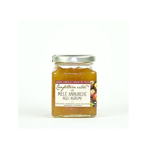il-poggio-del-picchio-mermelada-de-manzanas-annurca-y-arboles-de-citricos-220g