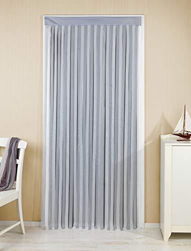 Wenko Türvorhang grau-weiß,1 Stück