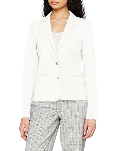 ONLY NOS Damen Anzugjacke Onlpoptrash Blazer Noos, Weiß (Cloud Dancer), 44 (Herstellergröße: XXL)