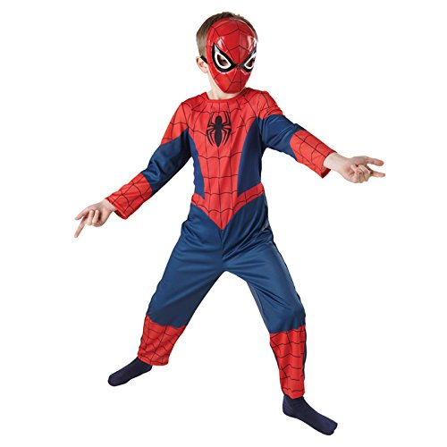 PARTY DISCOUNT NEU Kinder-Kostüm Spiderman Classic, Gr. S