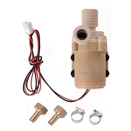 Preisvergleich Produktbild DC 12V 3m/9.8ft Micro Motor hohe Druck Wasser Pumpe Schalter 126GPH TE089