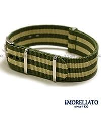 Pulsera MORELLATO perlón verde con bandas más limpia Band Cinta cannetè 22mm