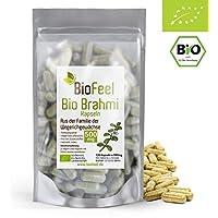 BioFeel - BIO Brahmi Kapseln, 120 Stk, 500mg - Bacopa Monnieri - Ayurveda