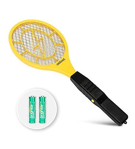 3000 Volt Elektrische Fliegenklatsche Mini Bug Zapper Outdoor | Fly Killer-Indoor Elektro sicher in der Anwendung auf Bugs innen oder außen | Hergestellt aus haltbarem ABS-Material