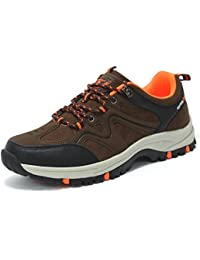 XI-GUA , Scarpe da camminata ed escursionismo uomo, (Rosarot), 40