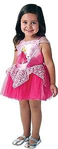 Rubies Disfraz Princesa Ballerina Aurora talla única, niña, i-300132rosa