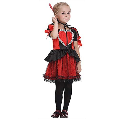 Königin Katzen Der Kostüm - HSKS Halloween Cosplay Mädchen Kostüm Königin Rollenspiele Kostüm