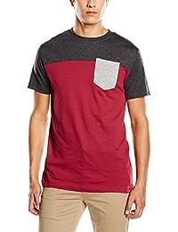 Urban Classics T-shirt 3-tone Pocket Tee - T-Shirt À Manches Longues - Homme
