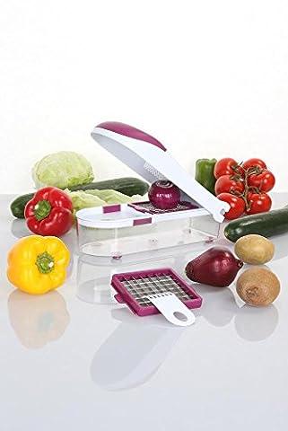 Coupe Legumes Et Oignons - Culinario Coupe-légumes et coupe-oignons, avec 2compartiments