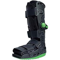 MXCYSJX Knöchelfraktur-Rehabilitations-Wanderschuhe, orthopädische Unterstützung mit Knöchelfixierung zum Schutz und zur Heilung nach Fuß- oder Knöchelverletzungen,L