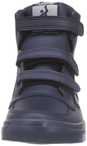 Hummel Stadil Tonal Jr Hi, Baskets hautes mixte enfant Bleu - Bleu (Dress 7459)