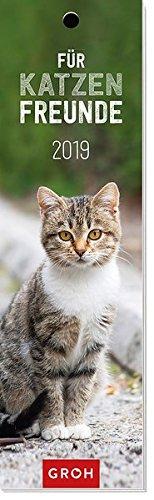 Für Katzenfreunde 2019: Lesezeichenkalender