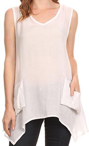 sakkas-oprah-chemisier-chemise-debardeur-haut-pan-sur-les-cotes-sans-manches-avec-deux-poches-au-dev