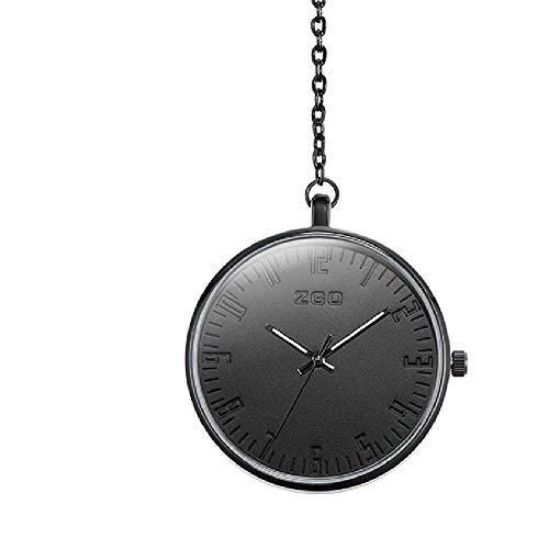 Q store Pocket watch Luminous Mode Retro Taschenuhr Herren Römische Wasserdicht Kette Taschenuhr ohne Abdeckung Quarz Uhr Anhänger Uhr