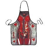 Novità Cooking in pelle Grembiule Sexy Woman Stampato grembiule da cucina alla griglia barbecue Grembiule