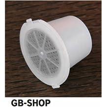 GB-Shop - 3 cápsulas de café expresso monodosis recargables compatibles con Nespresso, color blanco