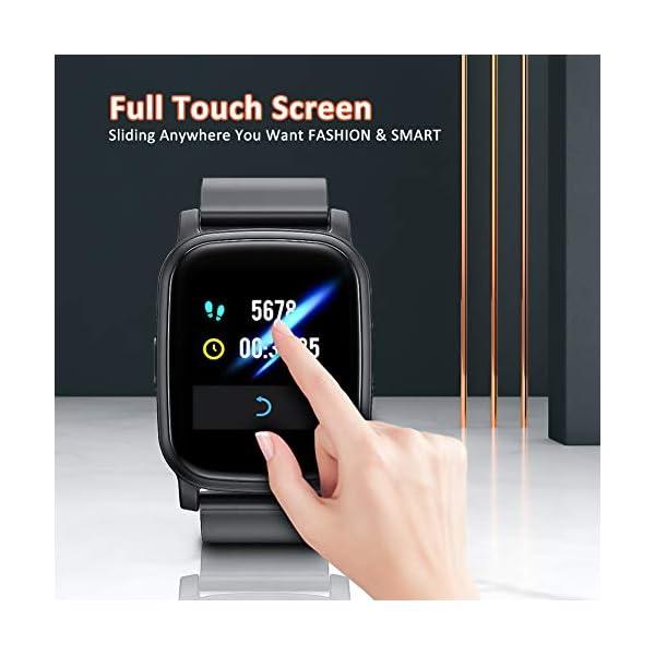 BYTTRON Smart Watch Fitness Tracker, Bluetooth Smartwatch IP68 a Prueba de Agua con Monitor de sueño de frecuencia… 2