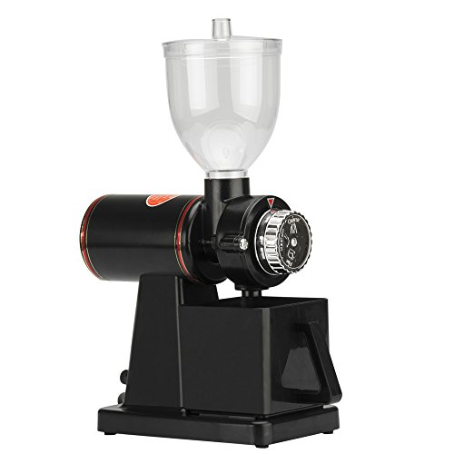 Electric Coffee Bean Grinder – 150W, 1 Litre Bean Capacity, 16 Grinding Levels, Classic Black Design 41 Gm9qT25L
