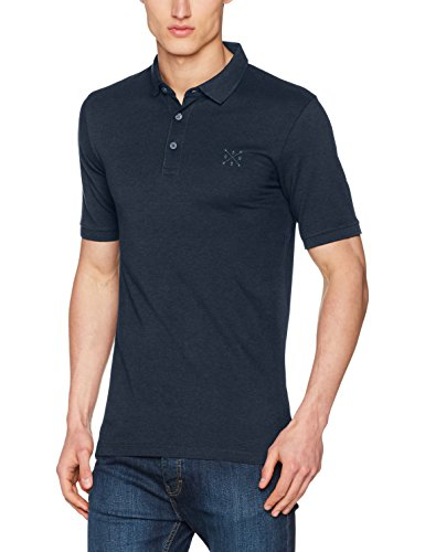 ONLY & SONS Herren T-Shirt Onsstan SS Fitted Polo Tee NOOS Blau (Ensign Blue)