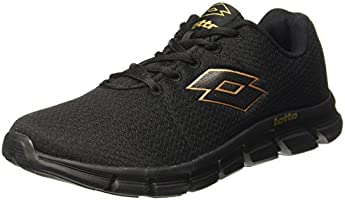 Lotto Men's Vertigo Black Running Shoes - 8 UK/India(42 EU)(AR4840-010)