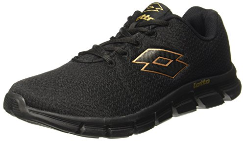 Lotto Men's Vertigo Black Running Shoes - 10 UK/India (44 EU) (AR4840-010)