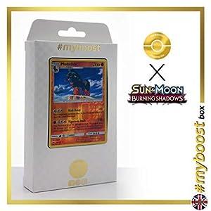 Mudsdale 78/147 Holo Reverse - #myboost X Sun & Moon 3 Burning Shadows - Box de 10 cartas Pokémon Inglesas