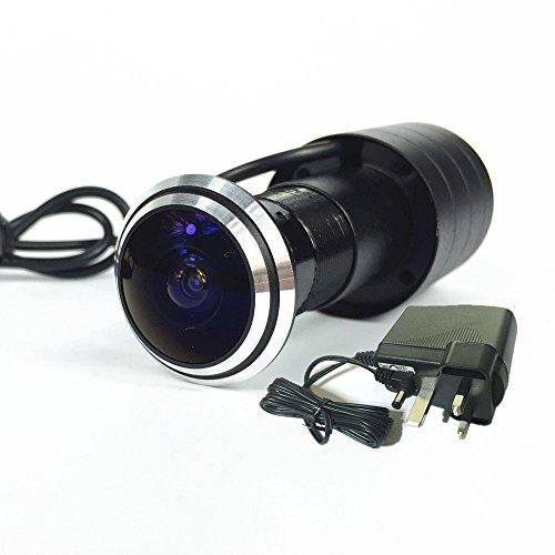 Shrxy Caméra de sécurité pour judas avec grand angle de détection de 170degrés