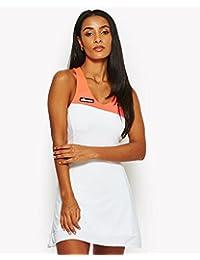 Ellesse SCW04561 Vestido de Tenis, Mujer, Blanco (Optic Whit), 36