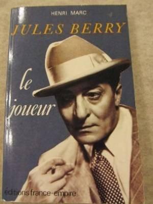 Jules Berry, le joueur