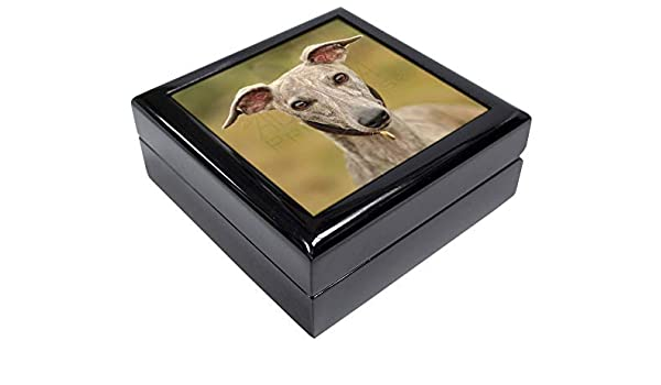 AD-WH92JB A Gorgeous Whippet Dog Keepsake//Jewellery Box Christmas Gift