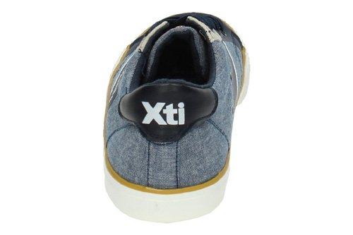 XTI , Espadrilles pour homme Bleu Marine