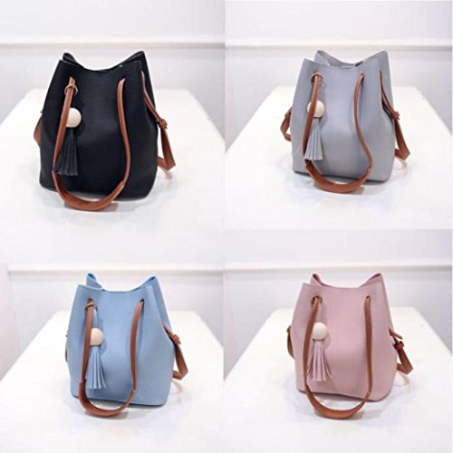 BZLine® Damentasche Shopper Bag groß Schultertasche Damentasche , 22*27*14cm Pink