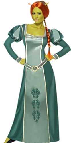 erdbeerloft - Damen Shrek Prinzessin Fiona Kostüm, L, - Fiona Kostüm Mädchen