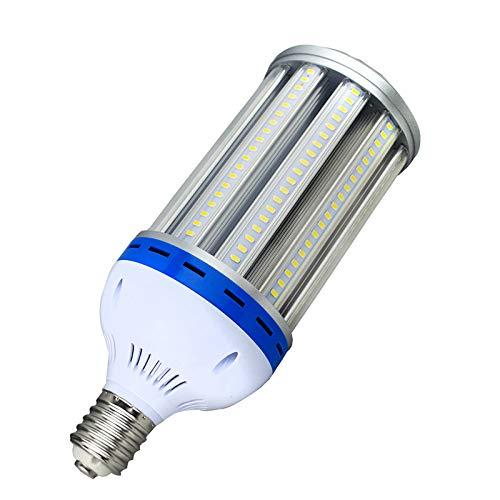 E40 LED 100W Mais Licht,5000K Ersetzen Halogen HID HPS Metall Kompakt CFL Glühbirne,12000 Lumen LED Lampe für Werkstatt Straßenbeleuchtung Carport Garten Hof [Energieklasse A+] (100 Led-licht-lampe Watt)