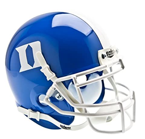 NCAA Duke Blue Devils Collectible Alt 1 Mini Helmet, Blue