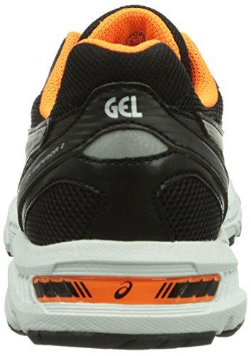 Asics GEL-EMPEROR 2 Herren Laufschuhe Orange (FLASH ORANGE/LIGHTNING/BLACK 3291)