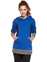 Be! Mama - 2in1 Umstandspullover, Sweatshirt, Still-Pulli, hochwertige Baumwolle, Modell: TOSCA